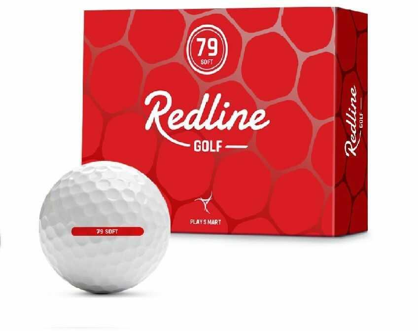 Piłki golfowe REDLINE 79 Soft (białe)