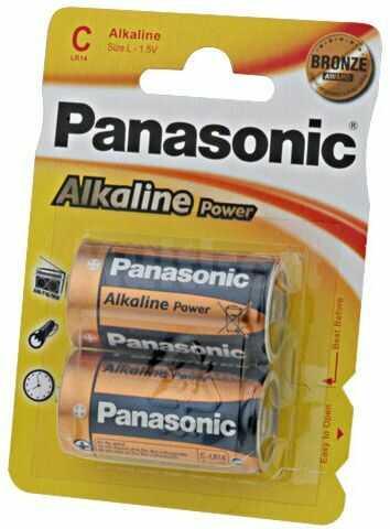 Bateria alkaliczna 1,5V PANASONIC C BRONZE Il.bat2