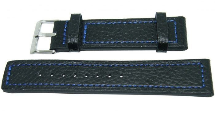 Pasek DILOY 22mm czarny, 362.22.1.5