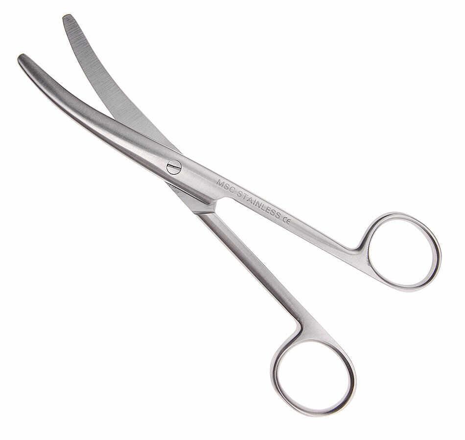 Nożyczki chirurgiczne do pępowiny typu Busch