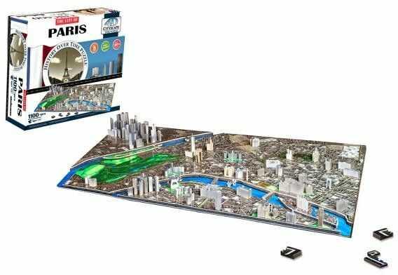 Puzzle 4D - Paryż, Francja