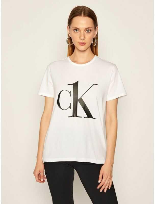 Calvin Klein Underwear T-Shirt 000QS6436E Biały Regular Fit