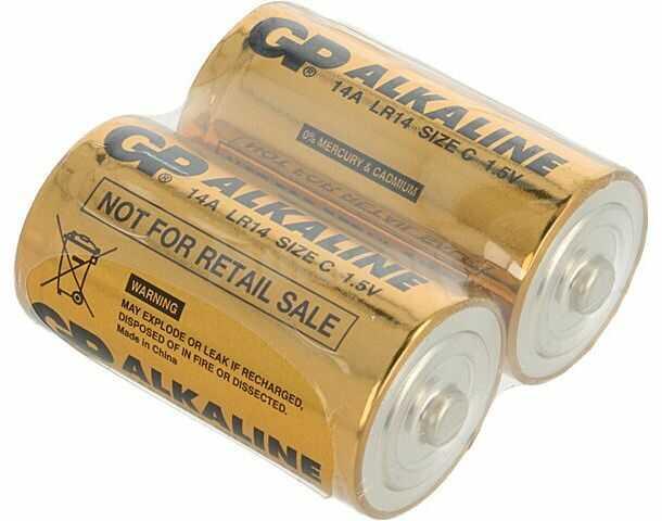 Bateria alkaliczna GP 1,5V C(R14) 2szt.