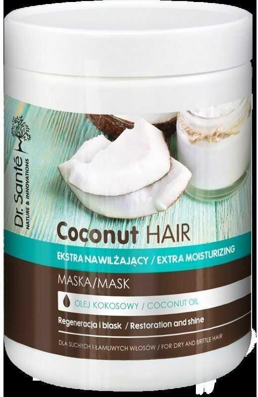 Dr. Sante Dr.Sante Coconut Hair Maska nawilżająca do włosów suchych i łamliwych 1000ml
