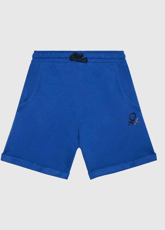 Szorty sportowe 3J68I0638 M Niebieski Regular Fit