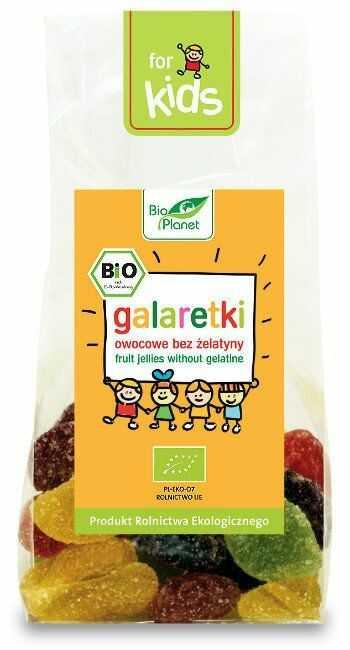Galaretki Owocowe 100g - Bio Planet - EKO