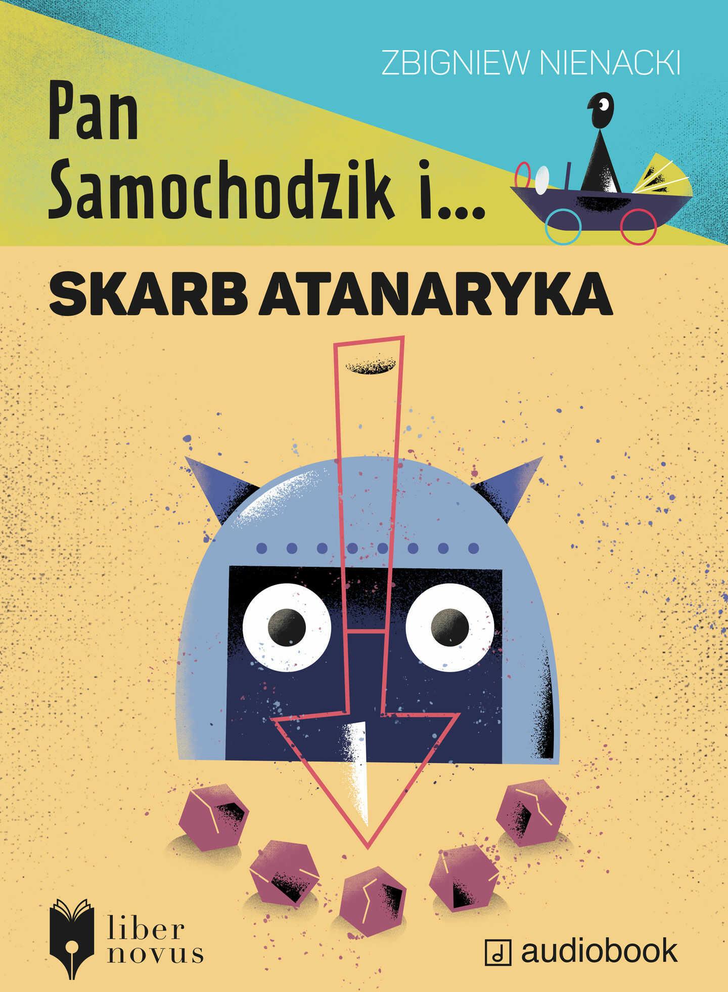 Pan Samochodzik i skarb Atanaryka - Zbigniew Nienacki - audiobook