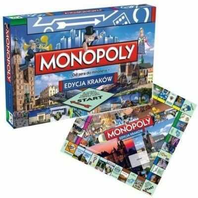 Hasbro Gra planszowa Monopoly Kraków wersja Angielska