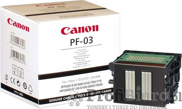 Głowica Canon PF-03 Back do drukarek (Oryginalna)