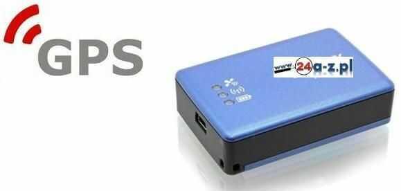 Rejestrator Trasy Pojazdu GPS + Czasy Postojów itd.