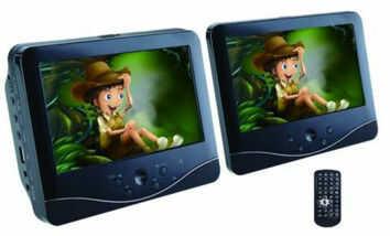 """1 Odtwarzacz DVD z podwójnym ekranem Norauto Sound NS-163N 7"""" Darmowa dostawa"""