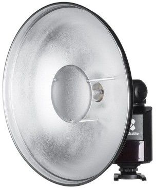 Quadralite Reporter Beauty Dish srebrny 30 cm
