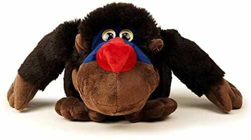 Sunny Toys 39020 - pluszowa małpa pawianowa, około 20 cm