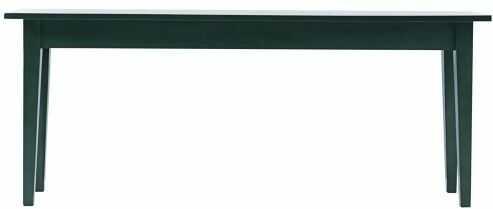 House Doctor MUSK Konsola z Drewna Mango 200x45 cm Ciemnozielona