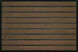 ID Matt Combi Brush, włókna syntetyczne, brązowe, 80 x 120 x 0,6 cm