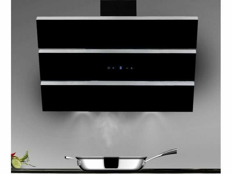 Okap kominowy Merido Black 60 cm