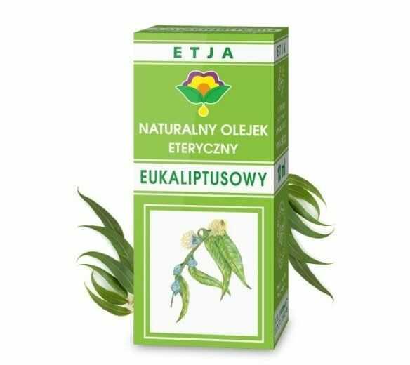 Olejek Eteryczny Eukaliptusowy 10ml Etja