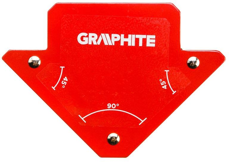 Spawalniczy kątownik magnetyczny 82 x 120 x 13 mm udźwig 11.4 kg 56H901