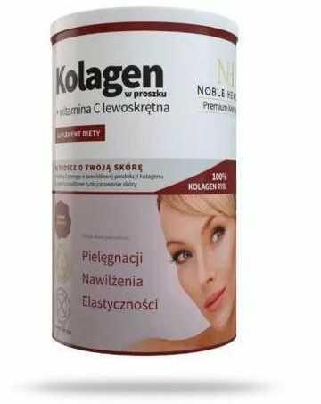 Noble Health Kolagen w proszku z witaminą C 100 g