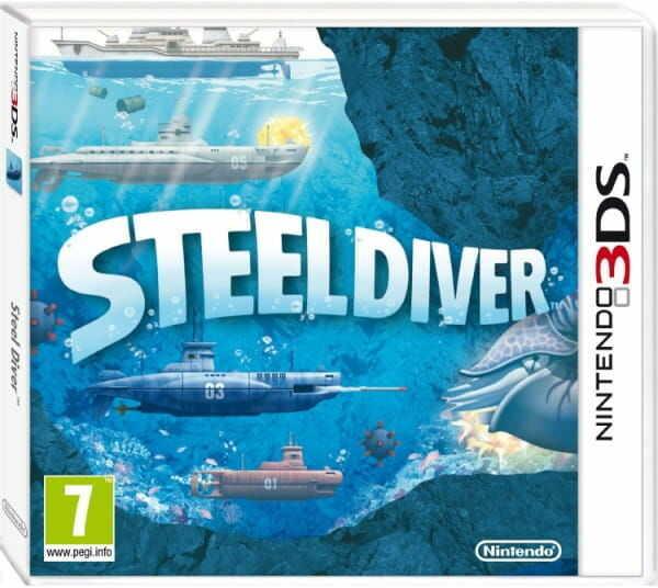 Gra Steel Diver (Nintendo 3DS)