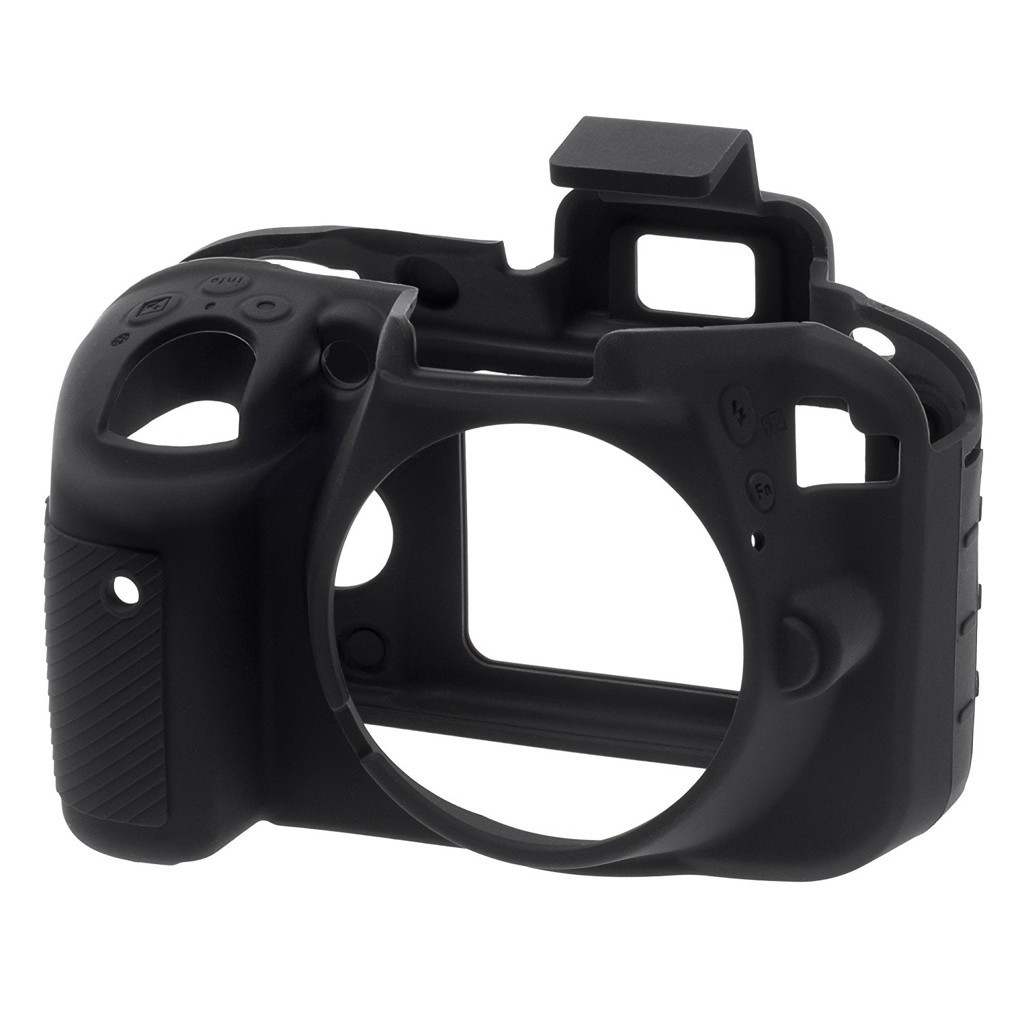 Osłona silikonowa easyCover do aparatów Nikon D3300/ D3400 czarna