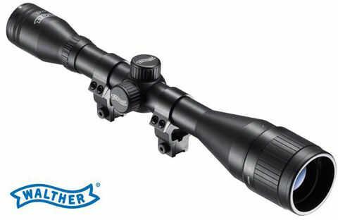 Profesjonalna Luneta Celownicza (do wiatrówki...) Walther 6x42 ZF z Montażem + Regulacja Paralaksy.