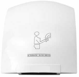 Suszarka do rąk ścienna 1800W biała automatyczna