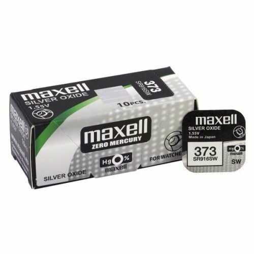 bateria srebrowa mini Maxell 373 / SR 916 SW