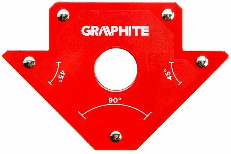 Spawalniczy kątownik magnetyczny 102 x 155 x 17 mm udźwig 22.7 kg 56H902
