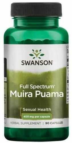 Swanson Full Spectrum Muira Puama 400mg 90 kapsułek