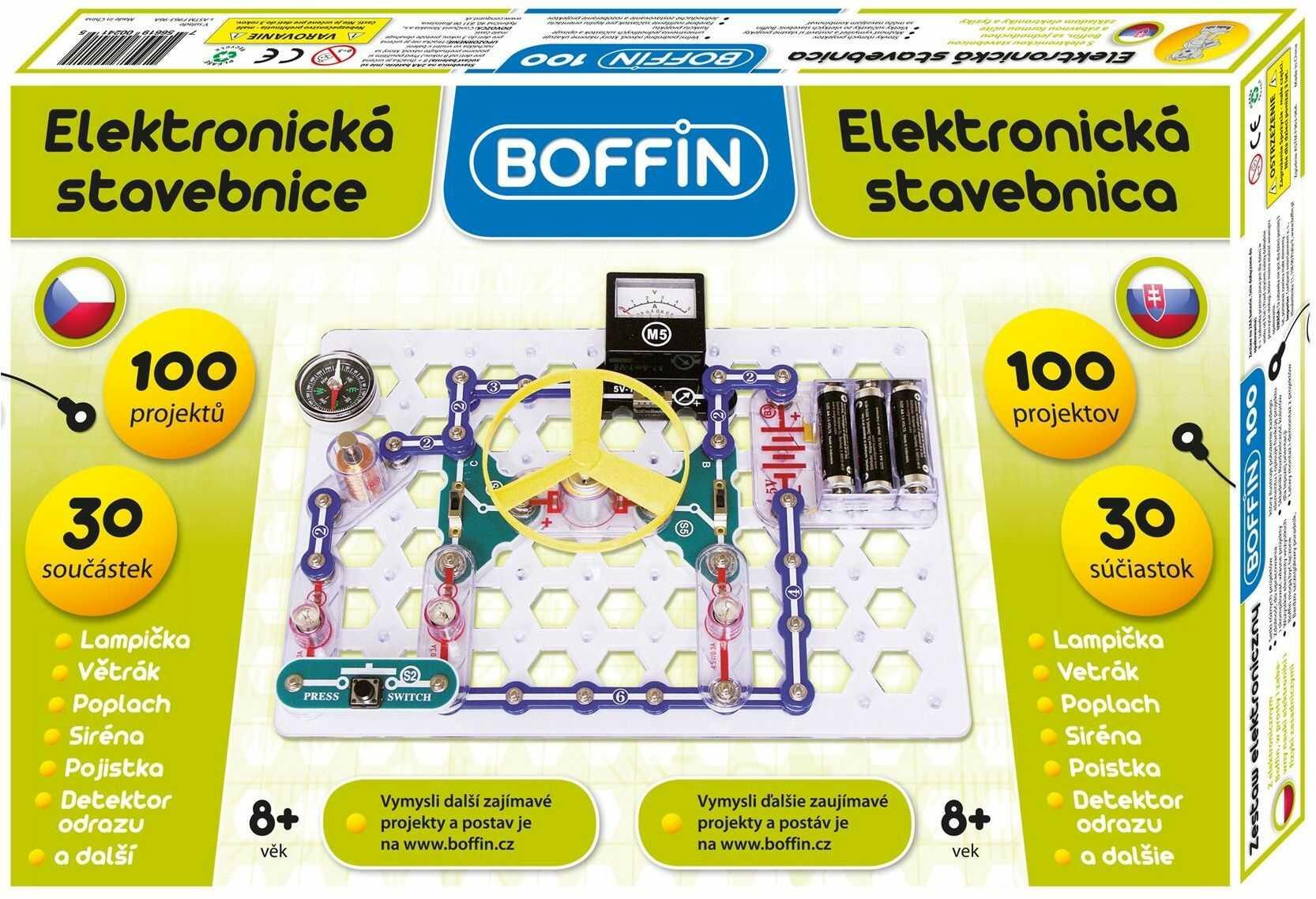 Zestaw małego elektronika BOFFIN I 100