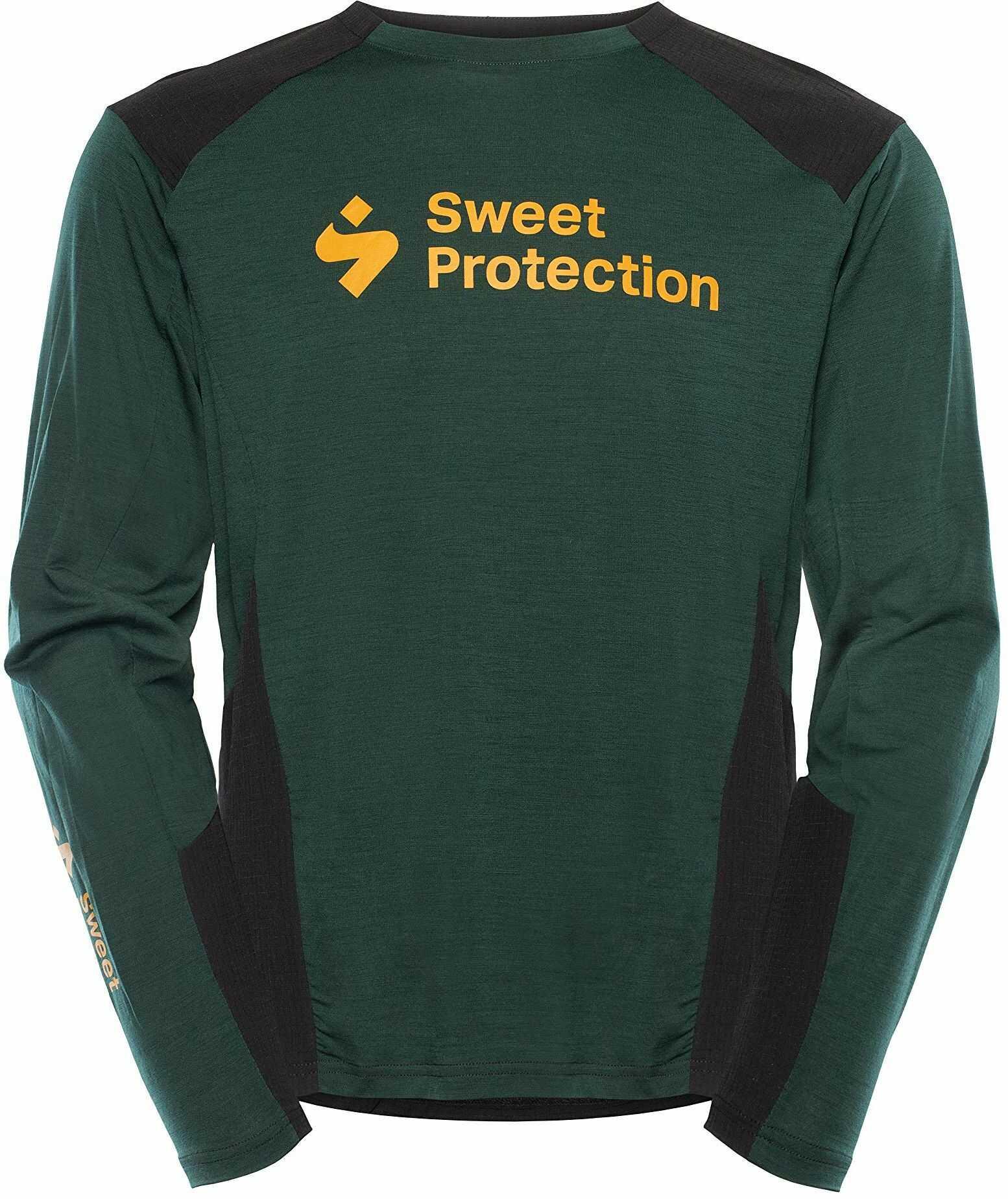 Sweet Protection Męska koszulka Hunter Merino Fusion Jersey, Forest Green, XL