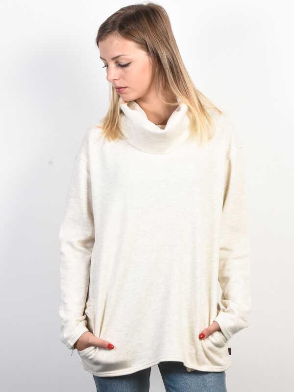 Burton ELLMORE VANILLA HEATHER bluza damska - XS