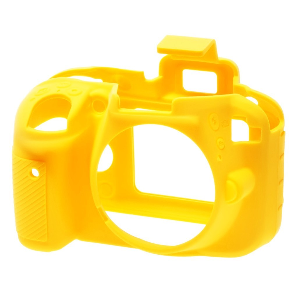 Osłona silikonowa easyCover do aparatów Nikon D3300/ D3400 żółta