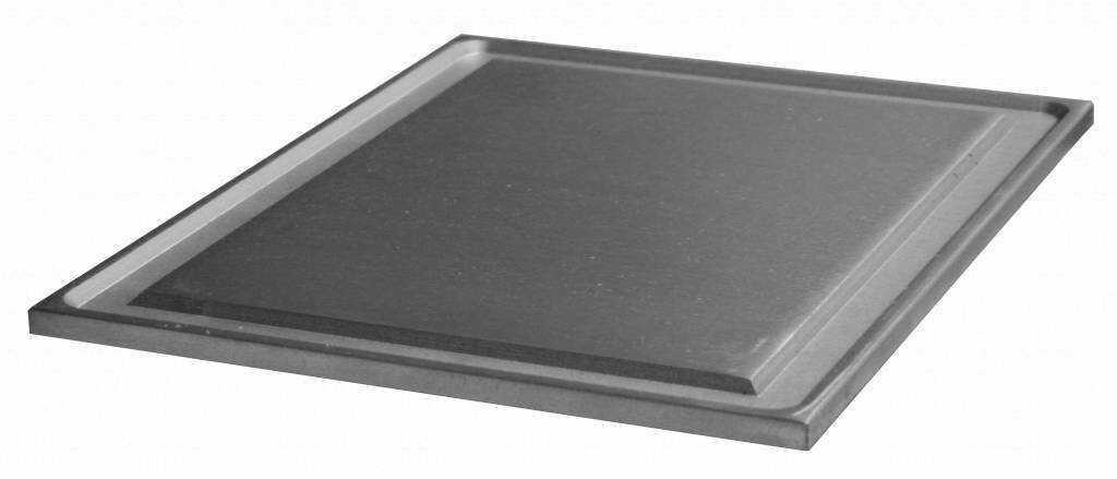 Płyta gładka na ruszt żeliwny podwójna 350x570mm