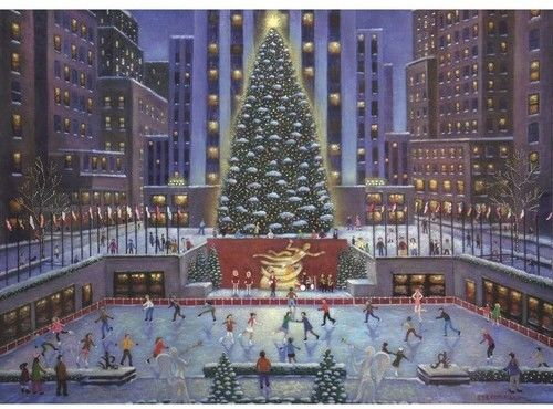 Puzzle Ravensburger 1000 - Nowojorska choinka, NYC Christmas