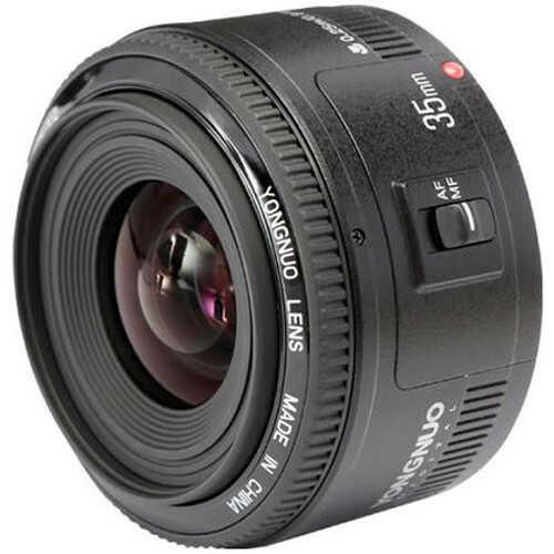 Yongnuo YN 35mm f/2.0 - obiektyw stałoogniskowy do Nikon F Yongnuo YN 35mm f/2.0 / Nikon F