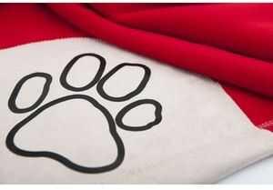 Koc dla psa Reedog Red Paw