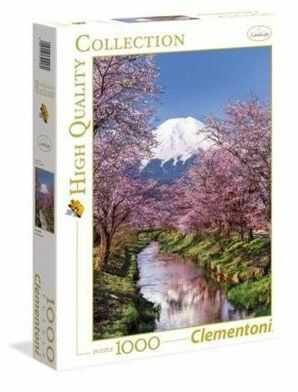 Puzzle Clementoni 1000 - HQ - Fuji Mountain