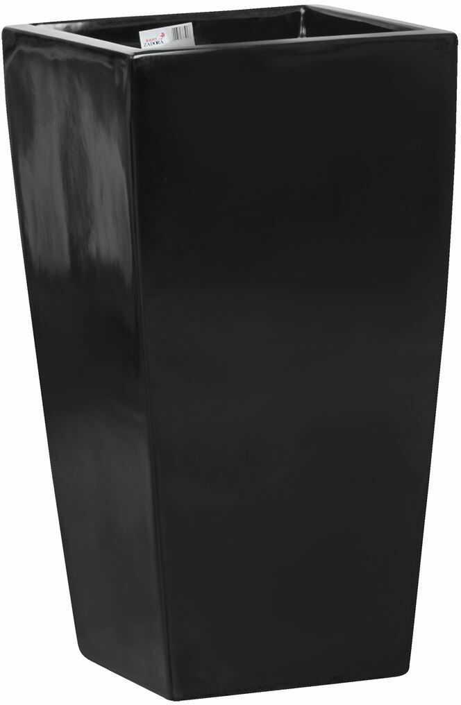 Donica z włókna szklanego D245C czarny połysk