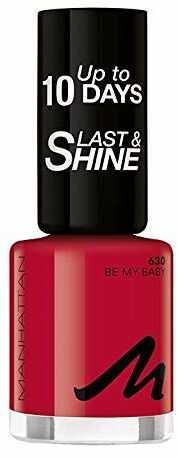 Manhattan Last und Shine lakier do paznokci, nr 630 Be My Baby, 1 opakowanie (1 X 10 ml)