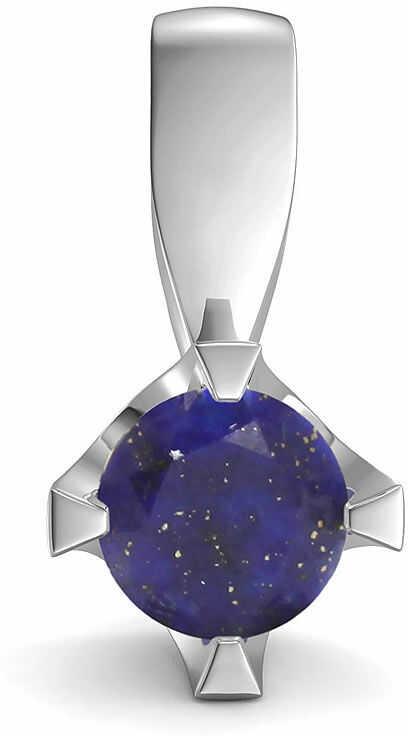 Kuźnia Srebra - Zawieszka srebrna, 14mm, Lapis Lazuli, 1g, model