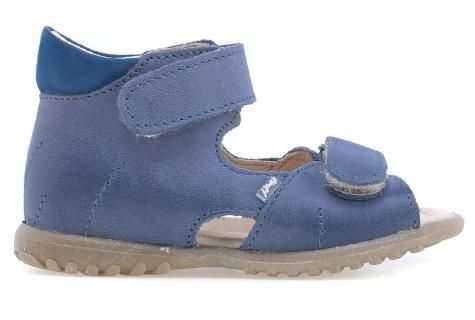 EMEL E2428B-15 ROCZKI sandały sandałki profilaktyczne chłopięce -niebieski