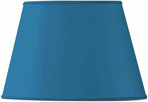 Klosz lampy owalny, Ø 30 x 19 x 11 x 20,5 cm, jasnoniebieski