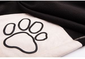 Koc dla psa Reedog Black Paw