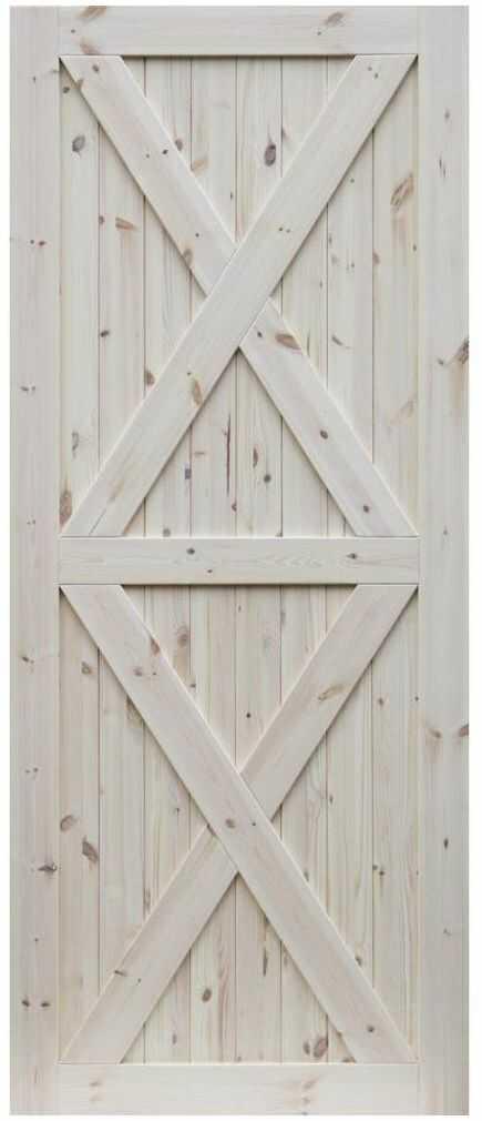 Skrzydło przesuwne drewniane Loft XX 80 Radex