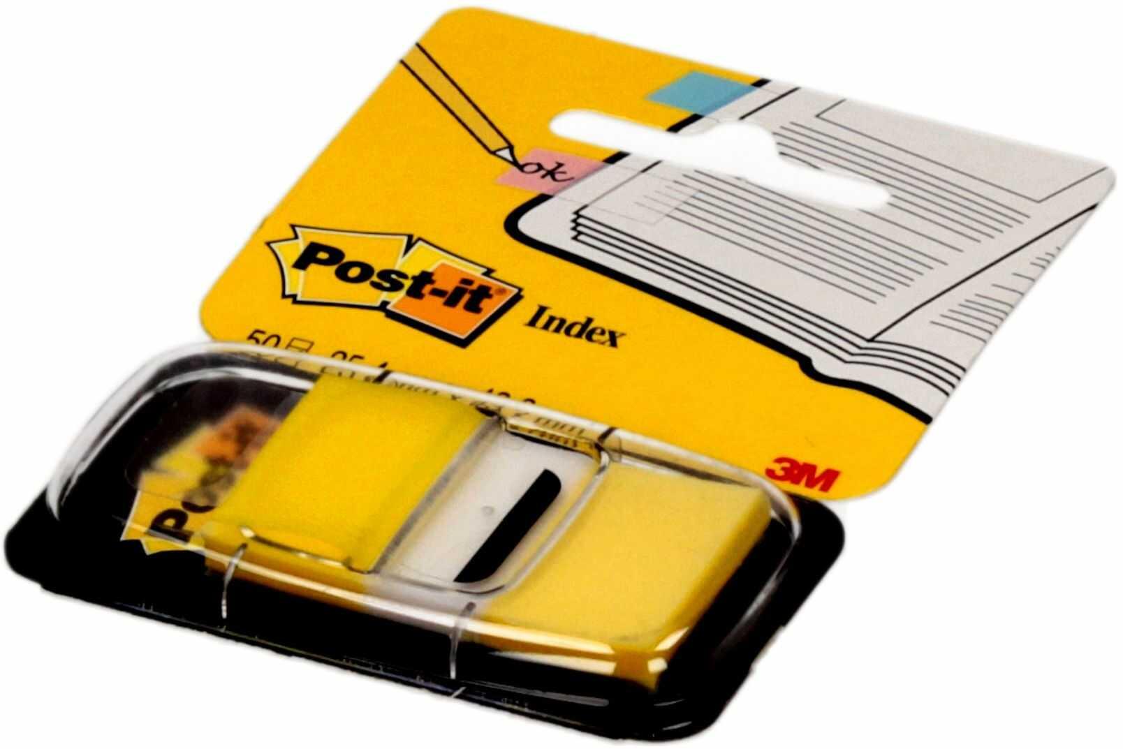 Zakładki indeksujące 25x43/50 żółte P-it