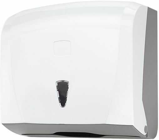 Podajnik na ręczniki papierowe w składce ZZ Pojemnik na ręczniki, dozownik do ręczników