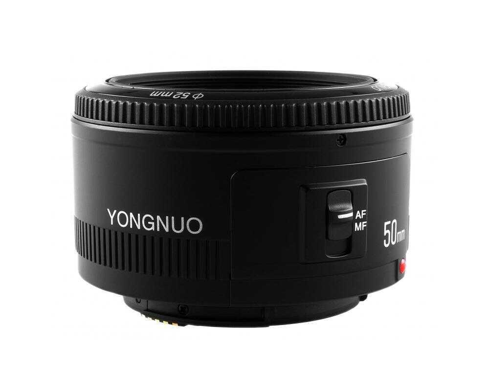 Yongnuo YN 50mm f/1.8 - obiektyw stałoogniskowy z autofocusem do Nikon F Yongnuo YN 50mm f/1.8 / Nikon F