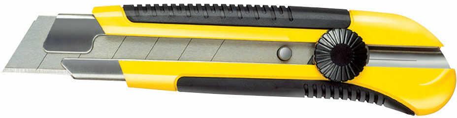 Nożyk uniwersalny, ostrze łamane 25mm [k]